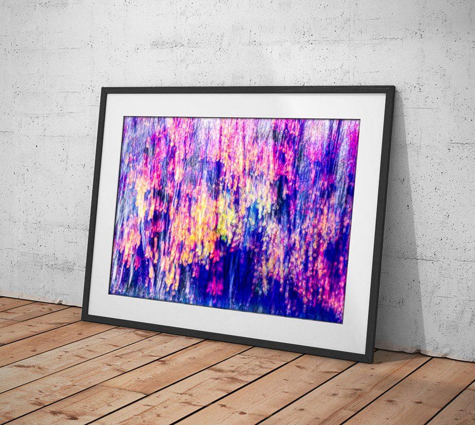 Taulu abstraktista valokuvasta © Johanna Pakkala